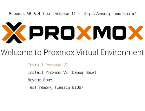 die-eggerts go virtual – Teil 2: Proxmox installieren